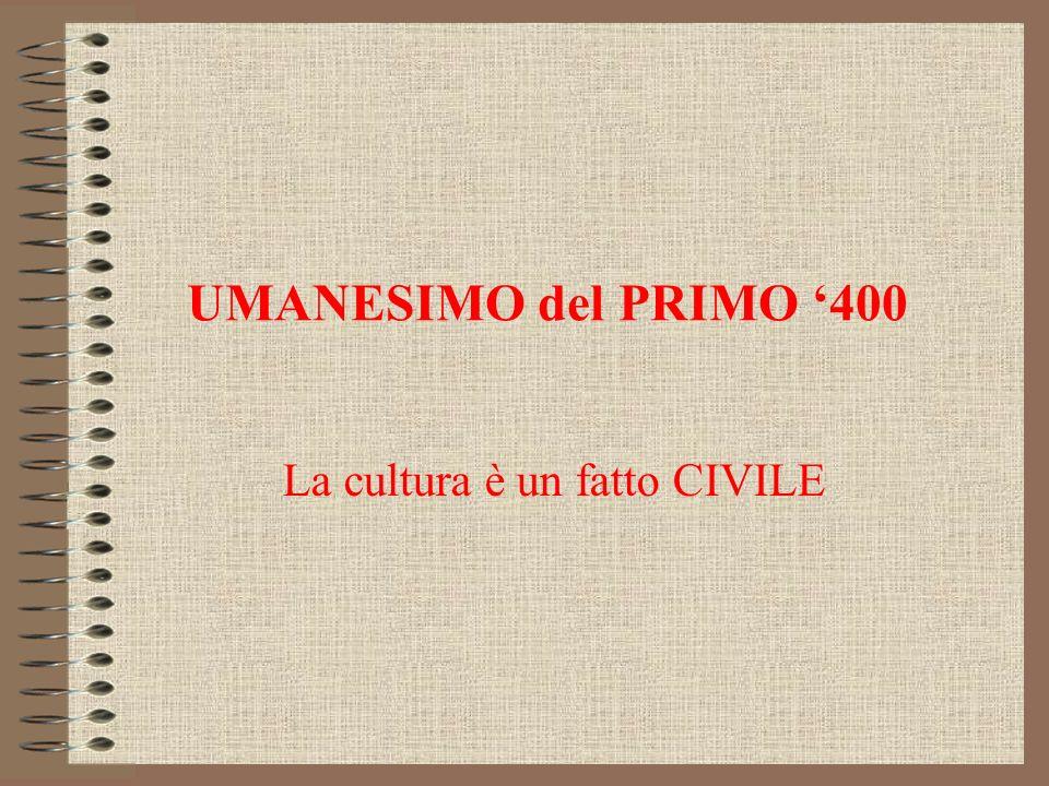 La cultura è un fatto CIVILE