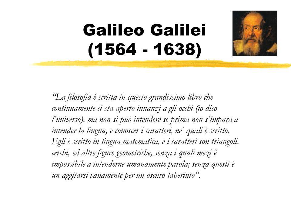 Galileo Galilei (1564 - 1638)