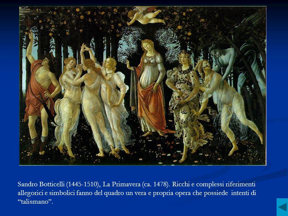 Sandro Botticelli (1445-1510), La Primavera (ca. 1478)