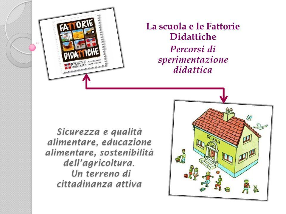 La scuola e le Fattorie Didattiche