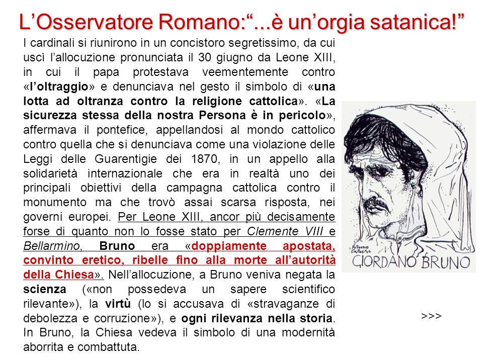 L'Osservatore Romano: ...è un'orgia satanica!