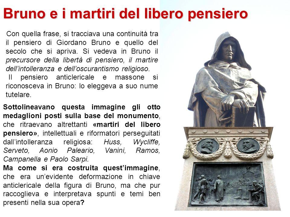Bruno e i martiri del libero pensiero