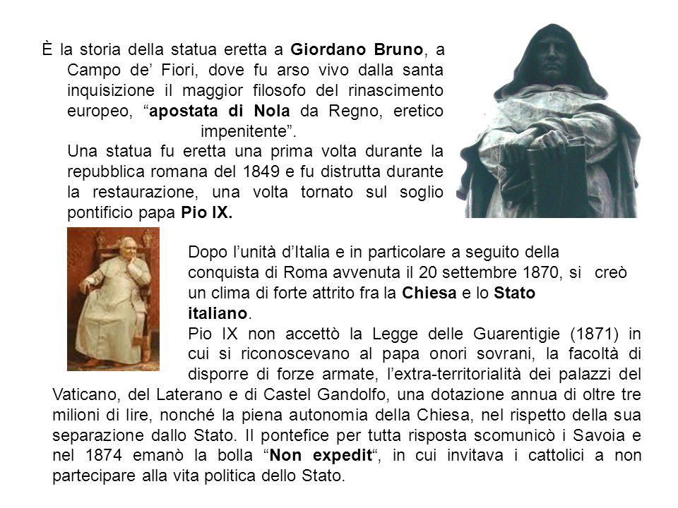 La filosofia di g bruno per fare gli italiani ppt for Dove si riunisce il parlamento italiano