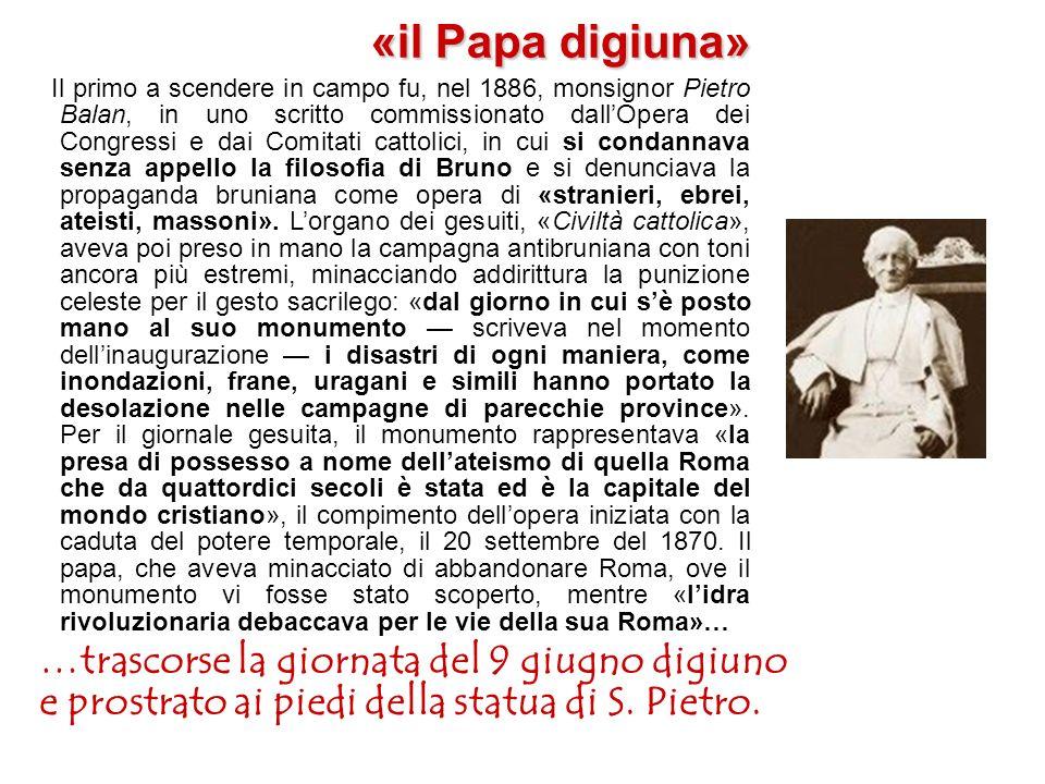 «il Papa digiuna» …trascorse la giornata del 9 giugno digiuno