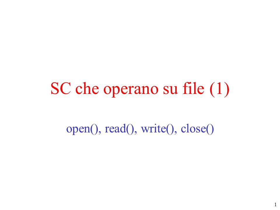 SC che operano su file (1)