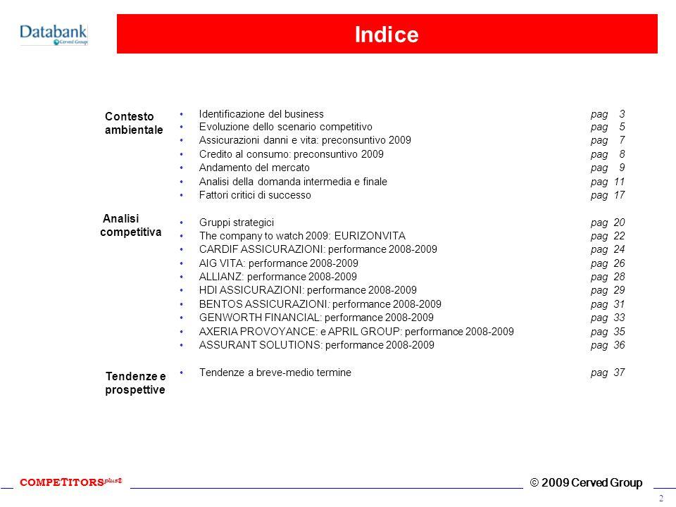 Indice Contesto ambientale Analisi competitiva Tendenze e prospettive