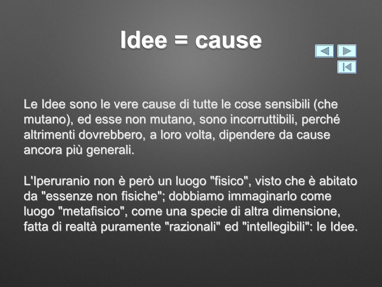 Idee = cause