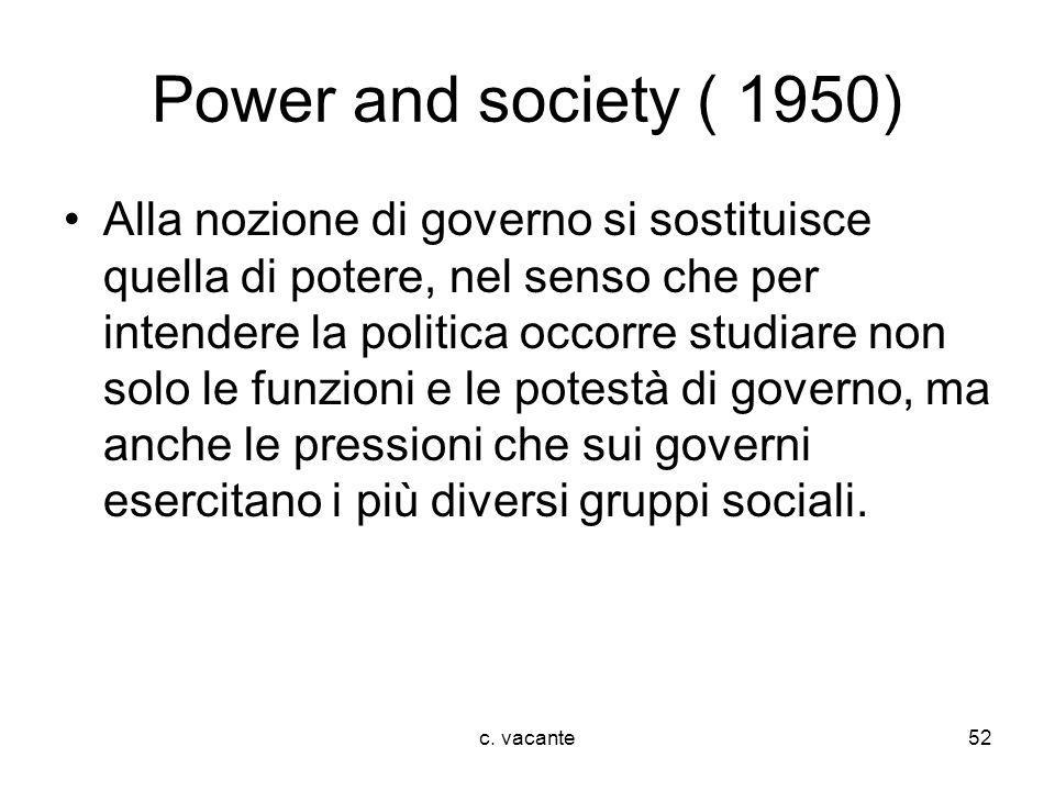 Power and society ( 1950)