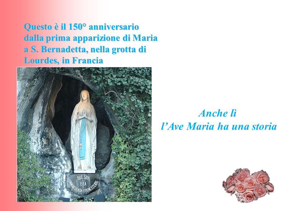 l'Ave Maria ha una storia