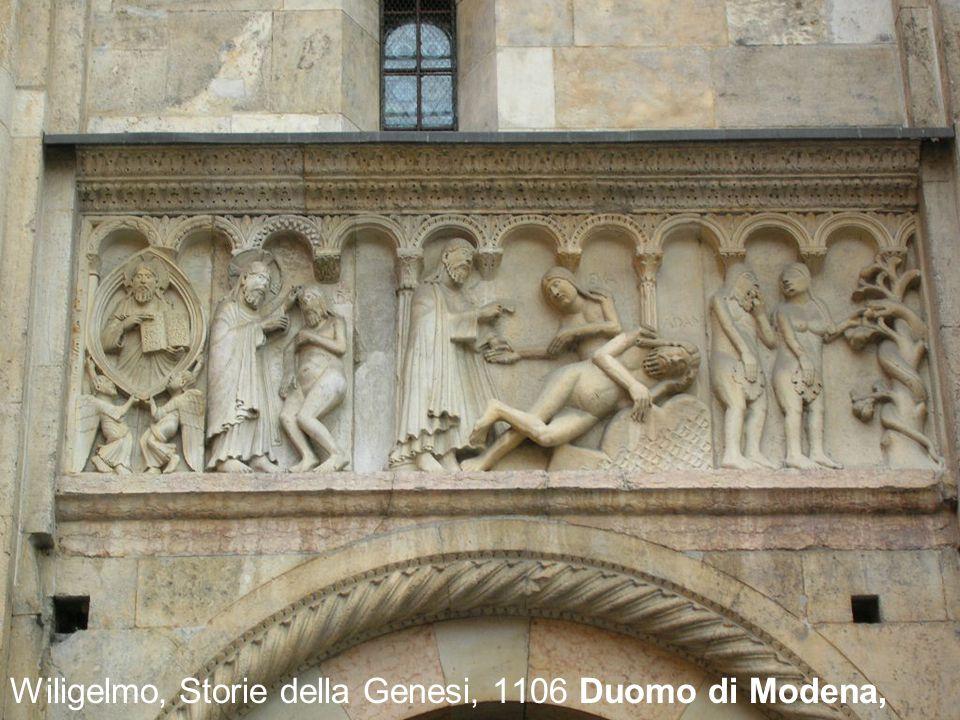 Wiligelmo, Storie della Genesi, 1106 Duomo di Modena,