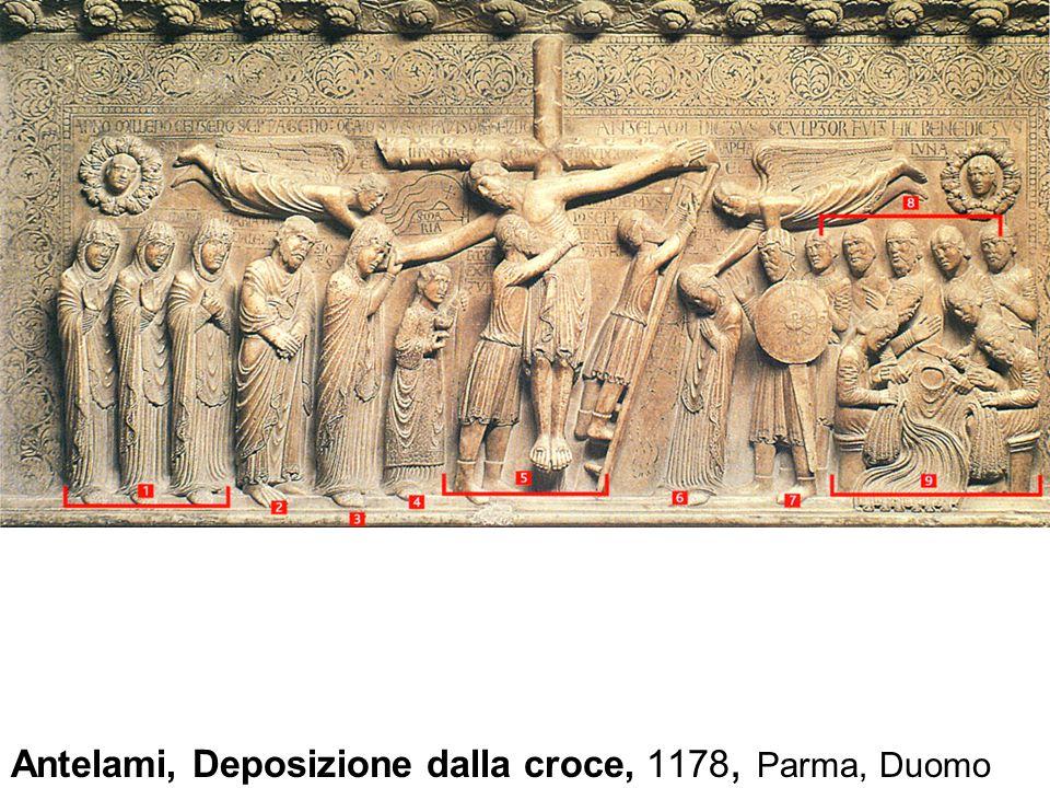Antelami, Deposizione dalla croce, 1178, Parma, Duomo