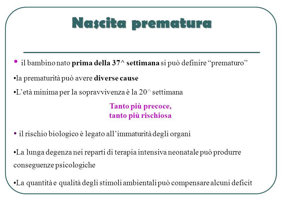Nascita prematura il bambino nato prima della 37^ settimana si può definire prematuro la prematurità può avere diverse cause.