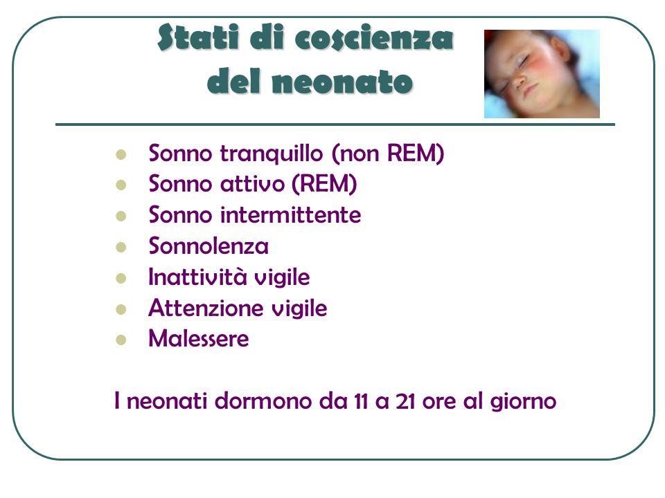 Stati di coscienza del neonato