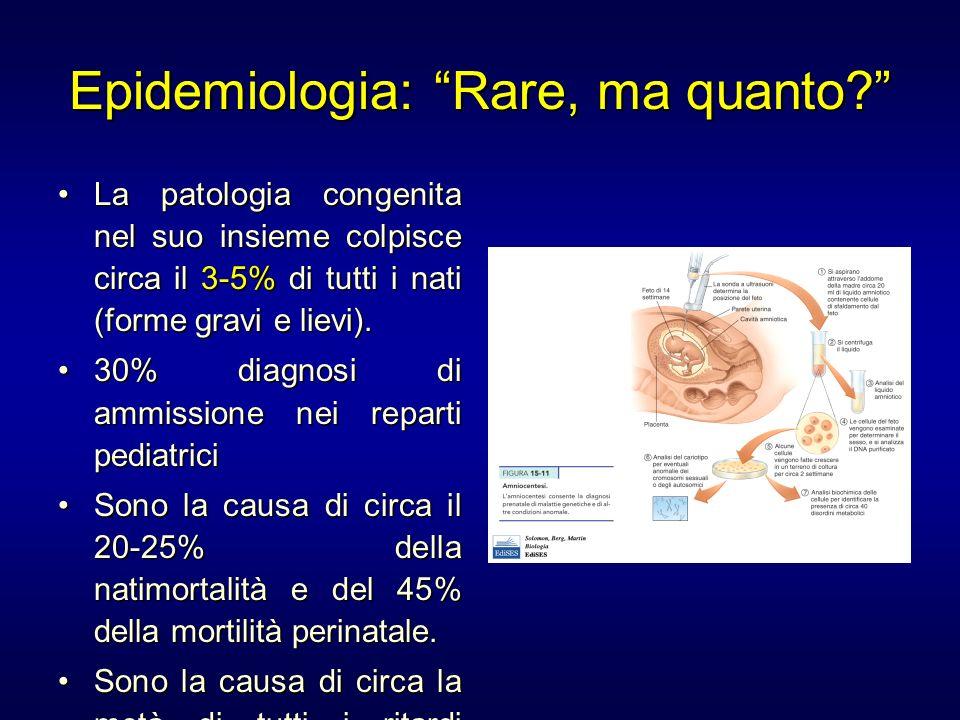 Epidemiologia: Rare, ma quanto