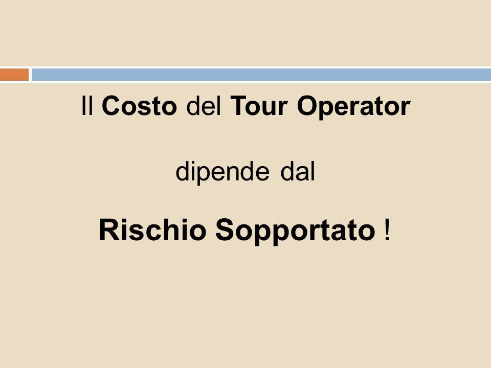 Il Costo del Tour Operator dipende dal