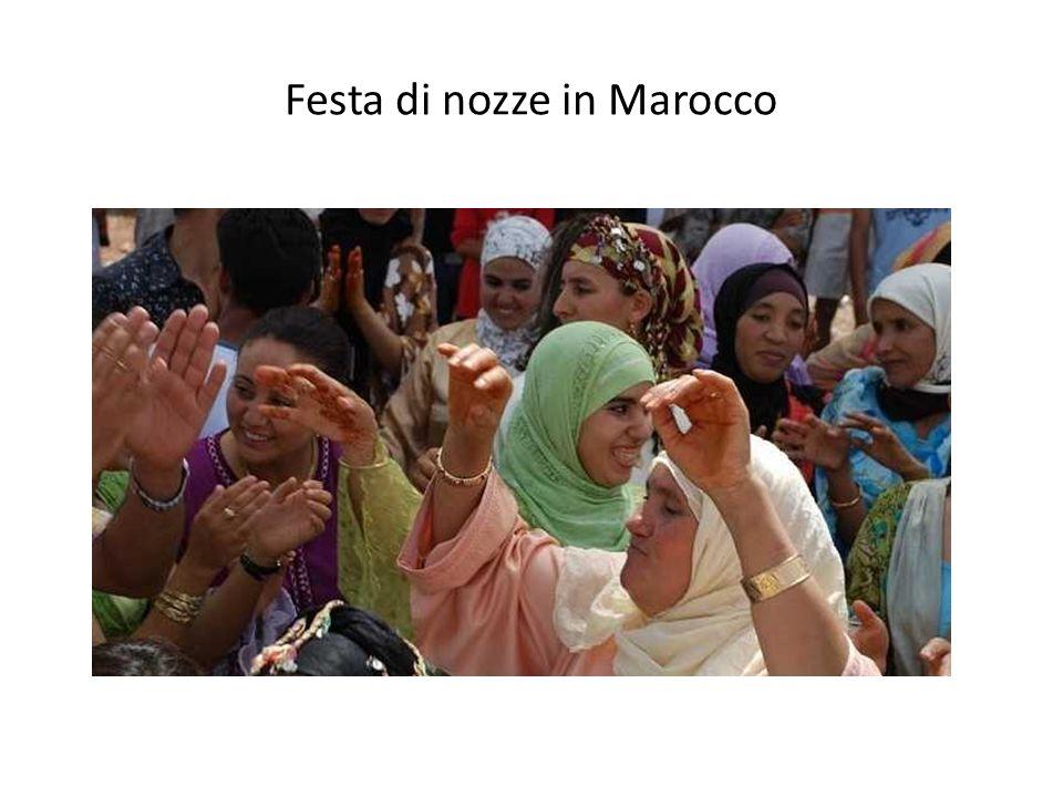 Festa di nozze in Marocco