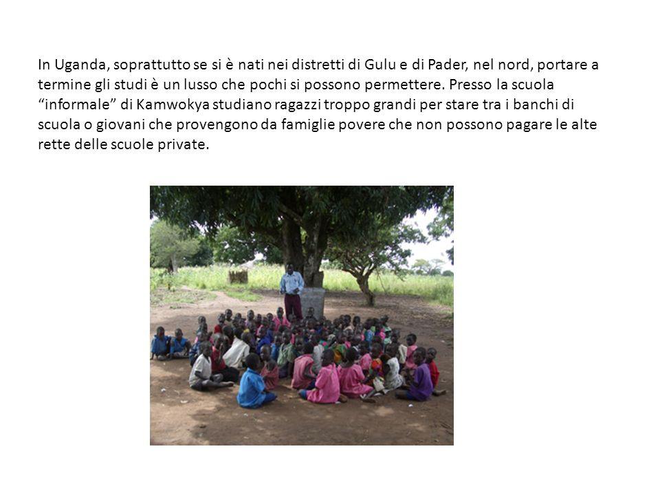 In Uganda, soprattutto se si è nati nei distretti di Gulu e di Pader, nel nord, portare a termine gli studi è un lusso che pochi si possono permettere.