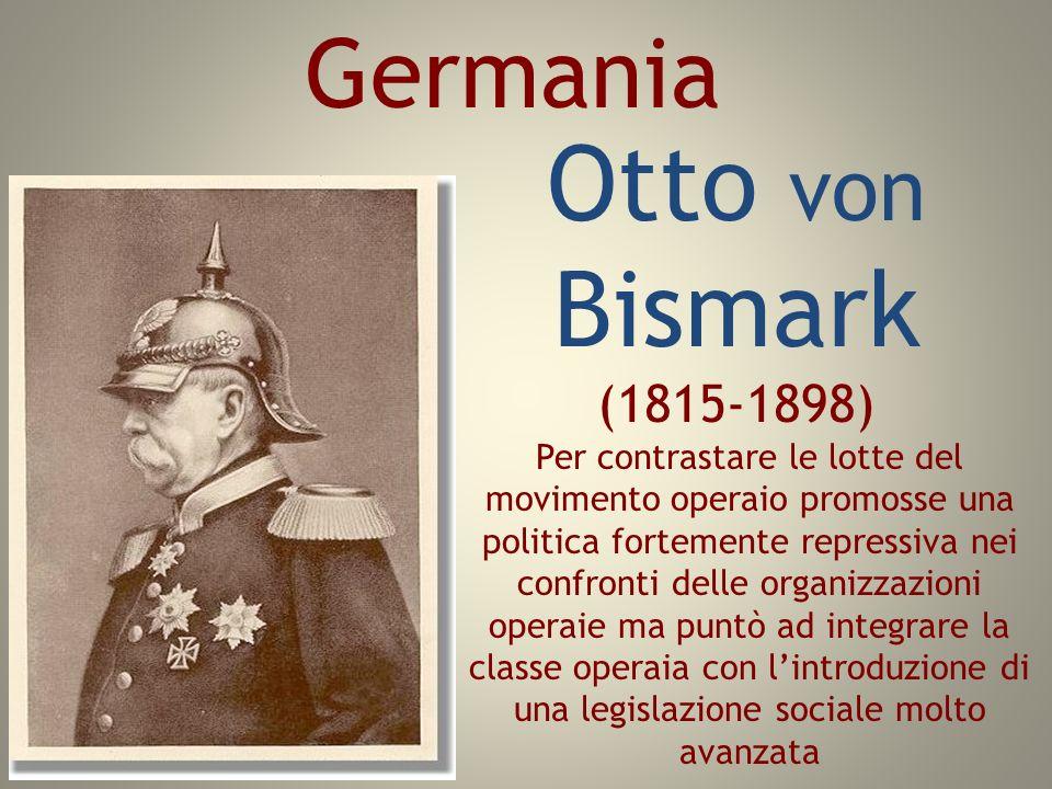 Otto von Bismark (1815-1898) Germania