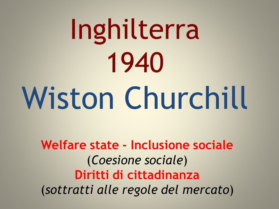 Inghilterra 1940 Wiston Churchill