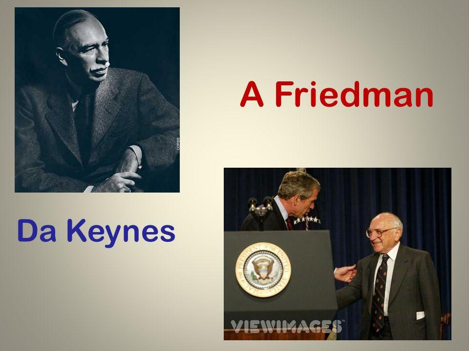 A Friedman Da Keynes