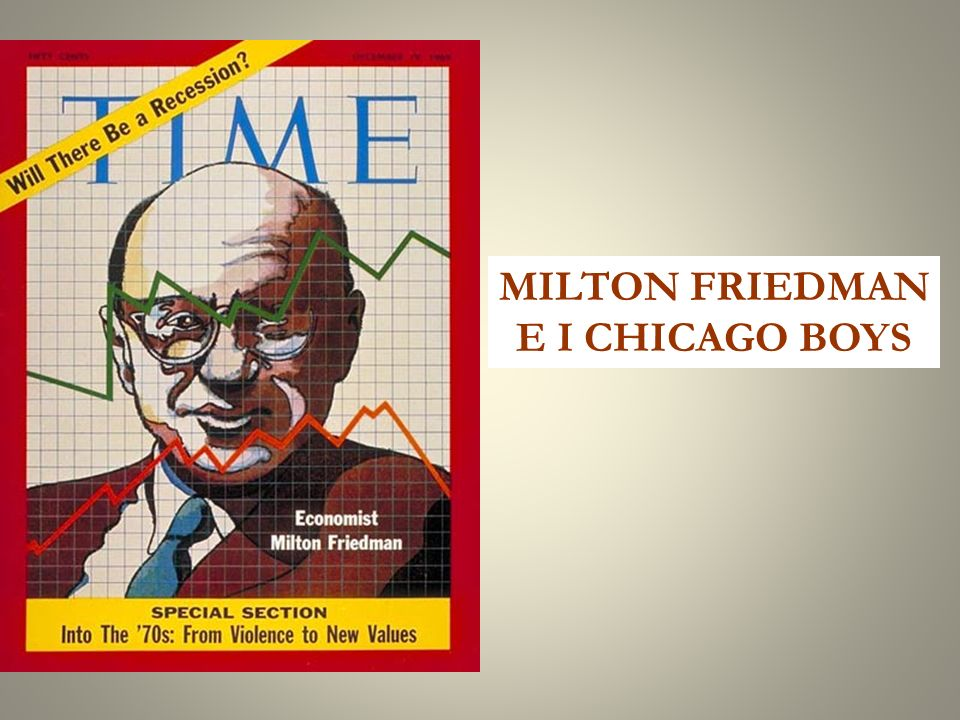 MILTON FRIEDMAN E I CHICAGO BOYS