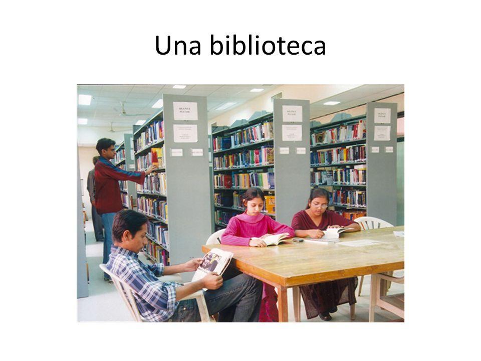 Una biblioteca