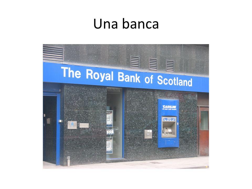 Una banca
