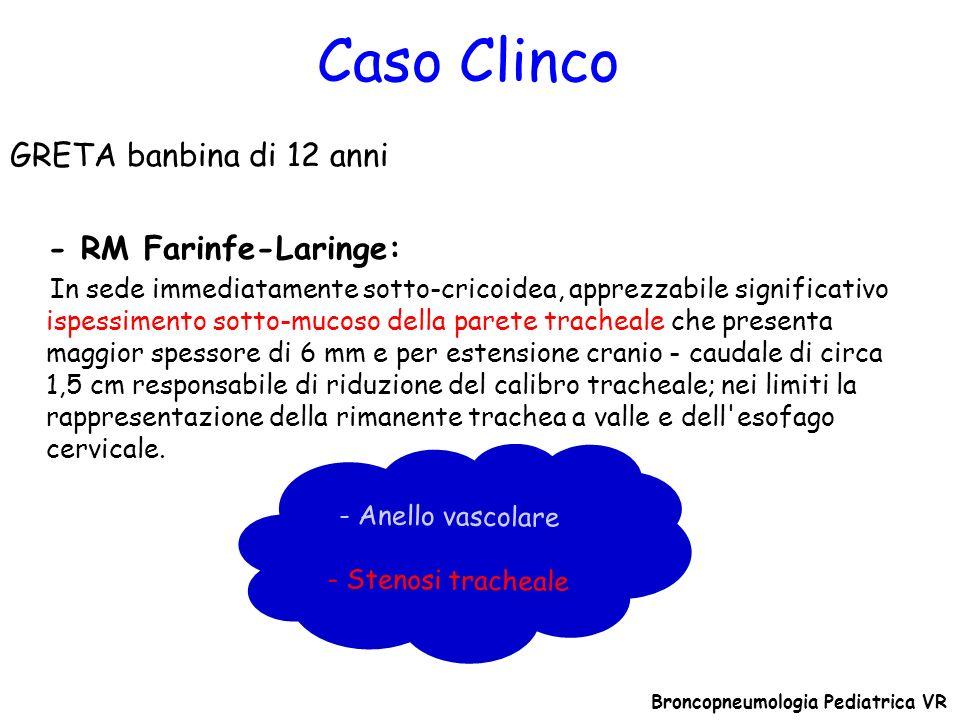 Caso Clinco GRETA banbina di 12 anni - RM Farinfe-Laringe: