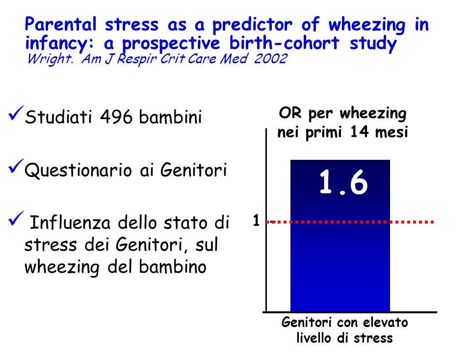 Parental stress as a predictor of wheezing in infancy: a prospective birth-cohort study