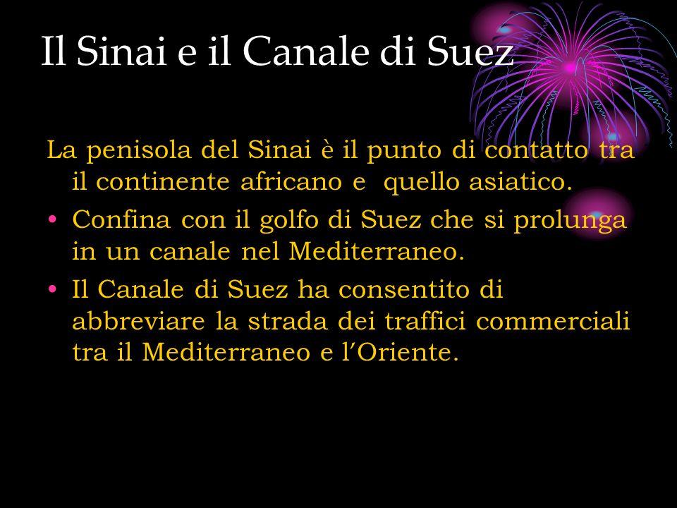 Il Sinai e il Canale di Suez