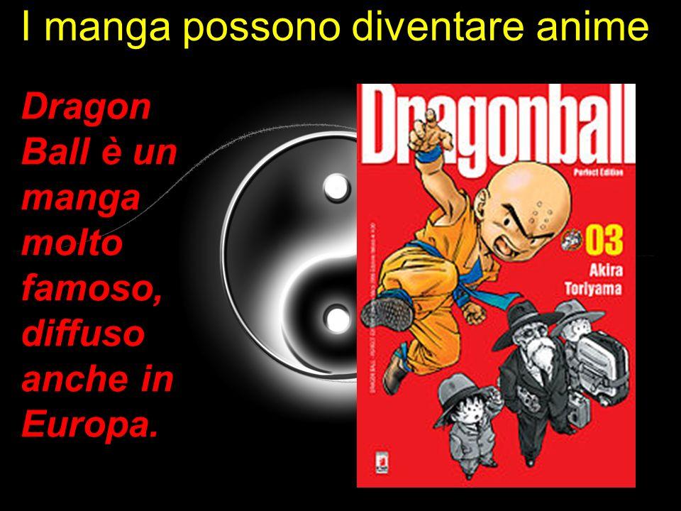 I manga possono diventare anime