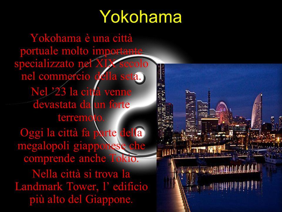 Nel '23 la città venne devastata da un forte terremoto.