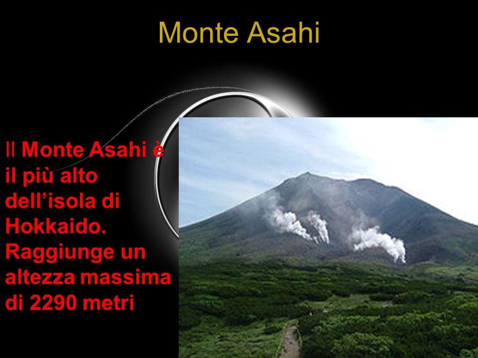 Monte Asahi Il Monte Asahi è il più alto dell'isola di Hokkaido.