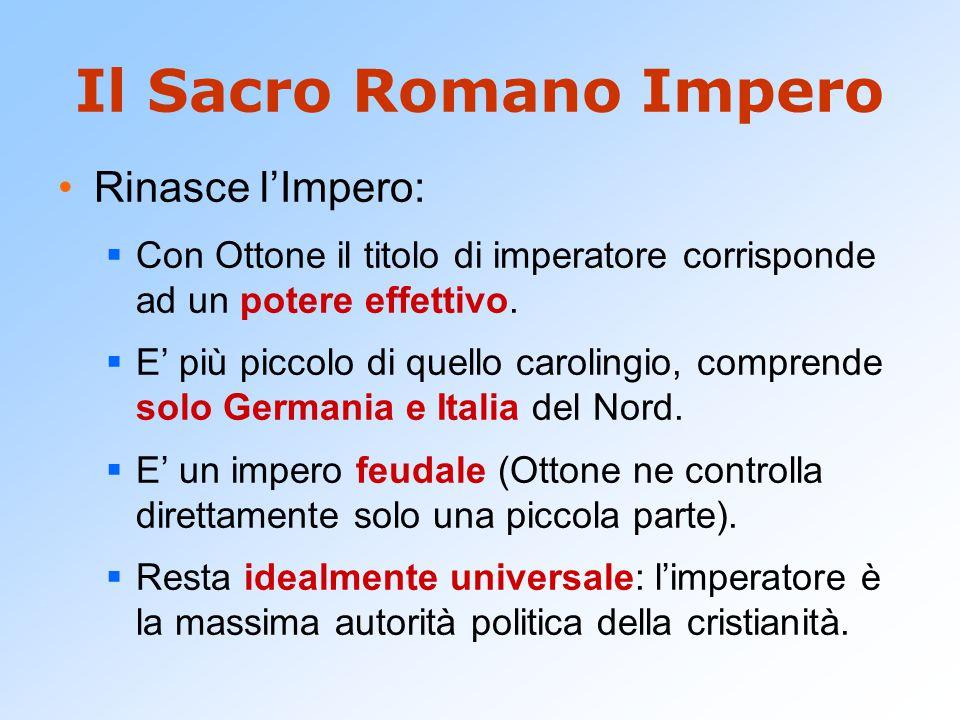 Il Sacro Romano Impero Rinasce l'Impero: