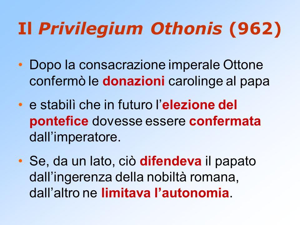 Il Privilegium Othonis (962)