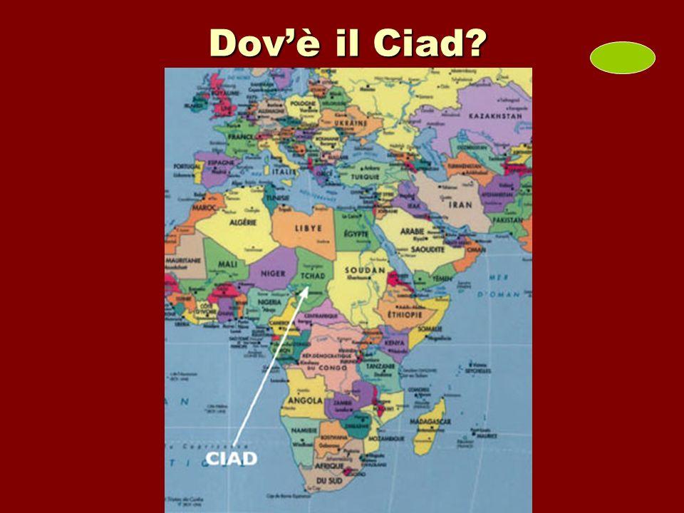 Dov'è il Ciad