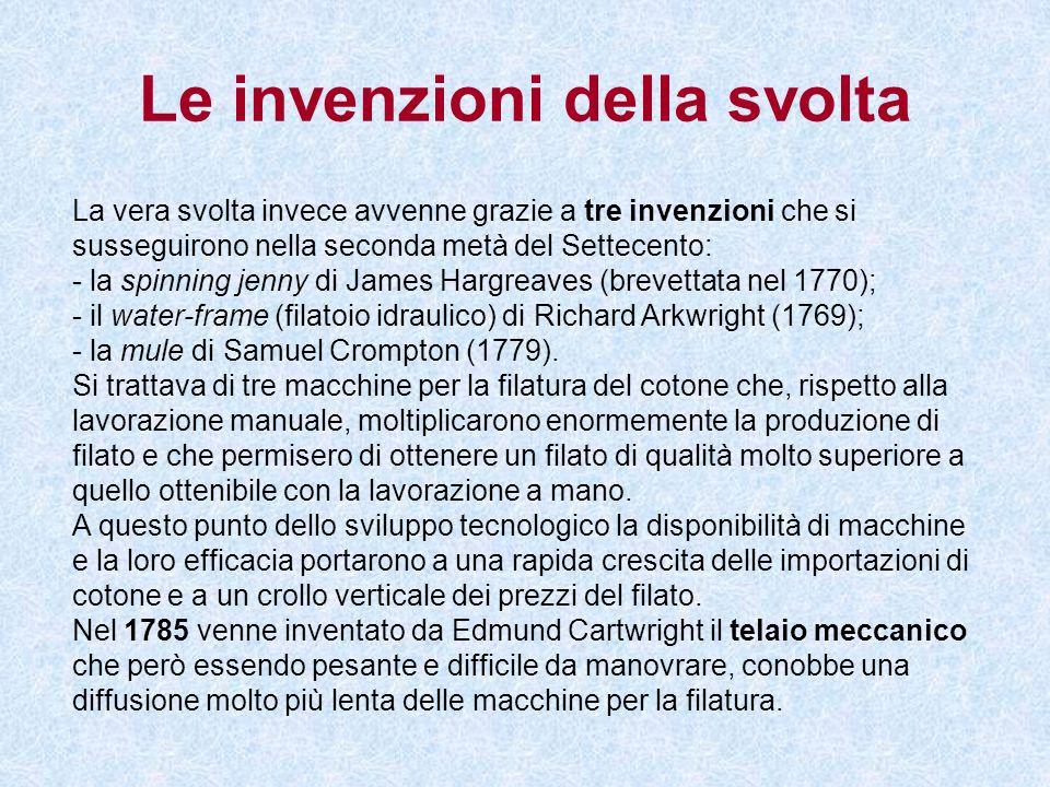 Le invenzioni della svolta