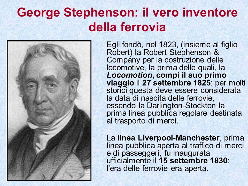 George Stephenson: il vero inventore della ferrovia