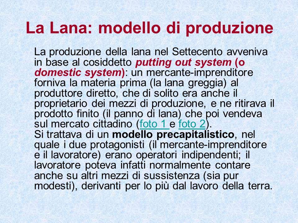 La Lana: modello di produzione