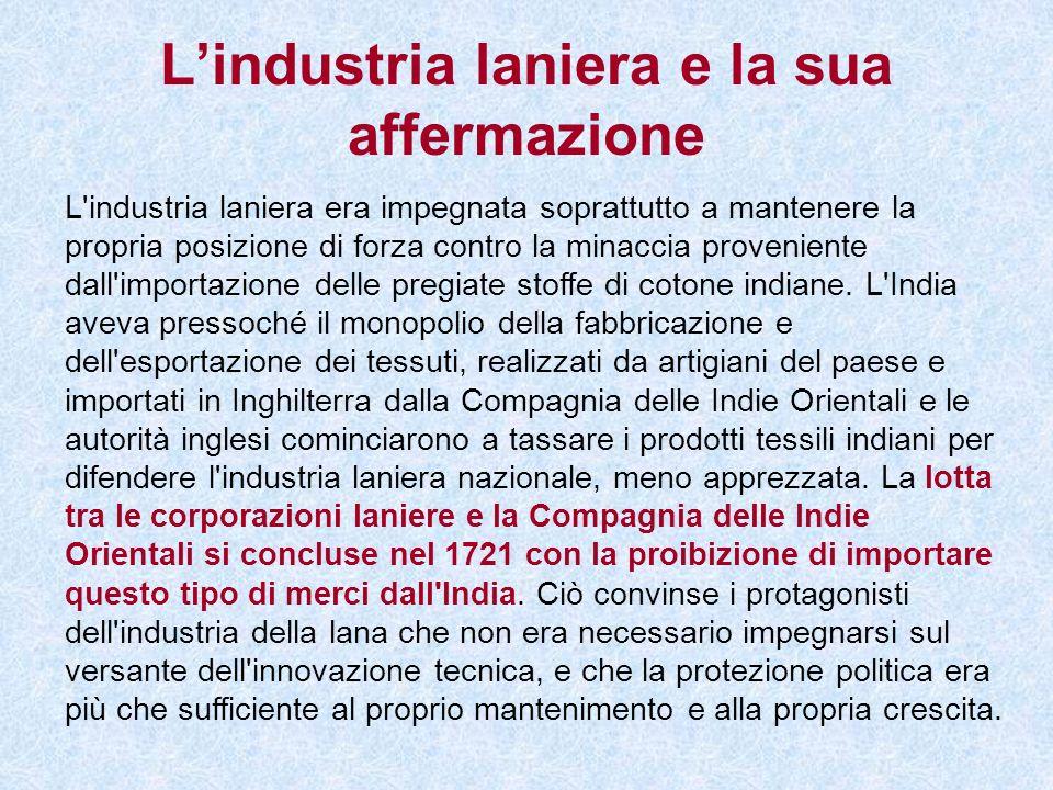 L'industria laniera e la sua affermazione