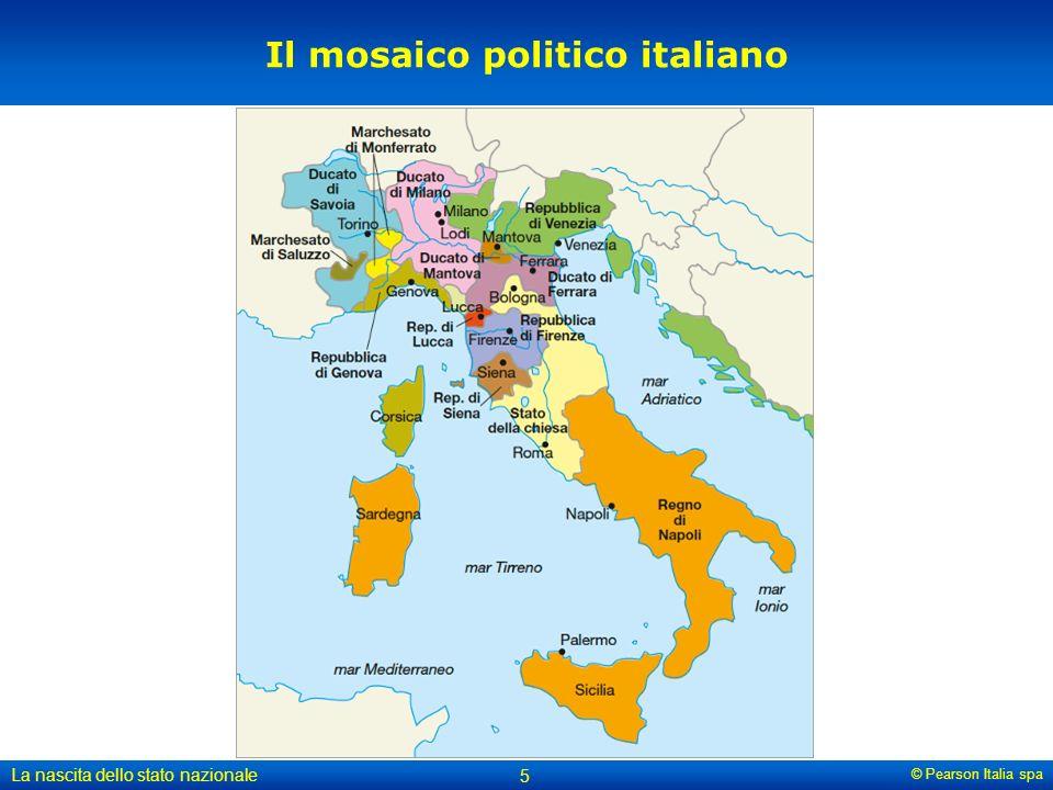 Il mosaico politico italiano