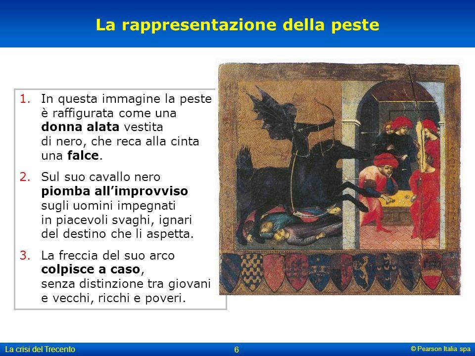 La rappresentazione della peste