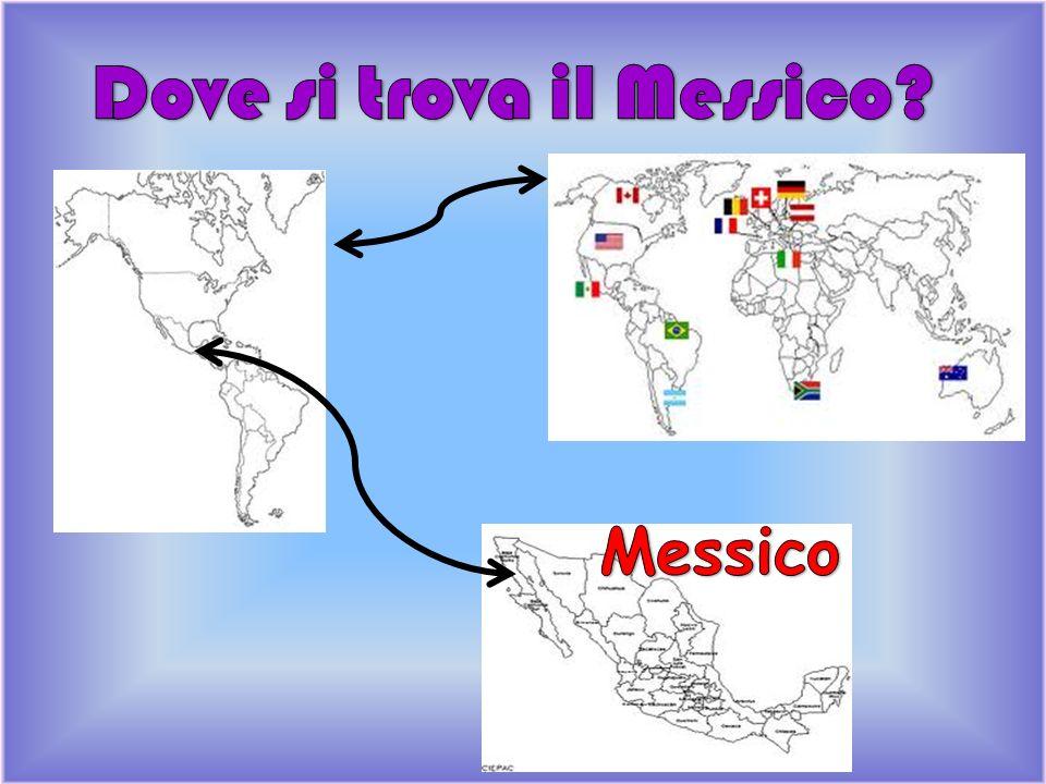 Dove si trova il Messico