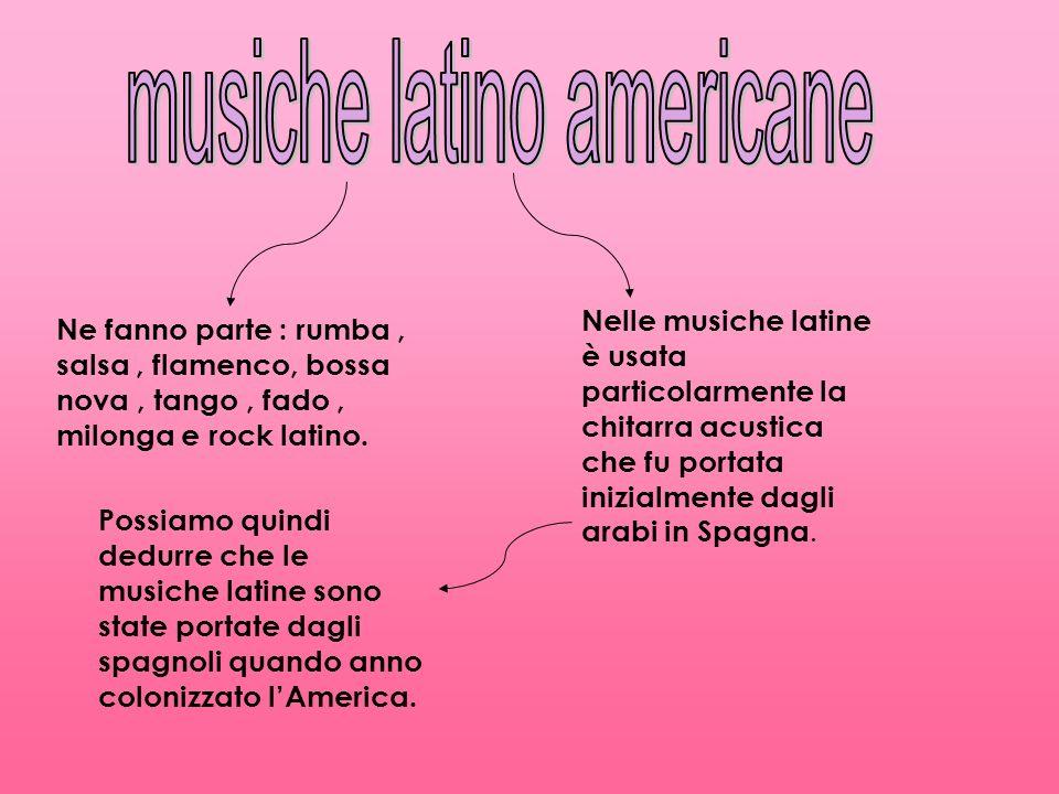 musiche latino americane