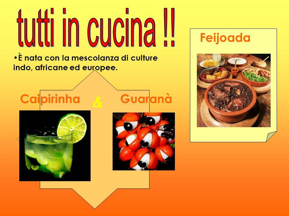tutti in cucina !! & Feijoada Caipirinha Guaranà