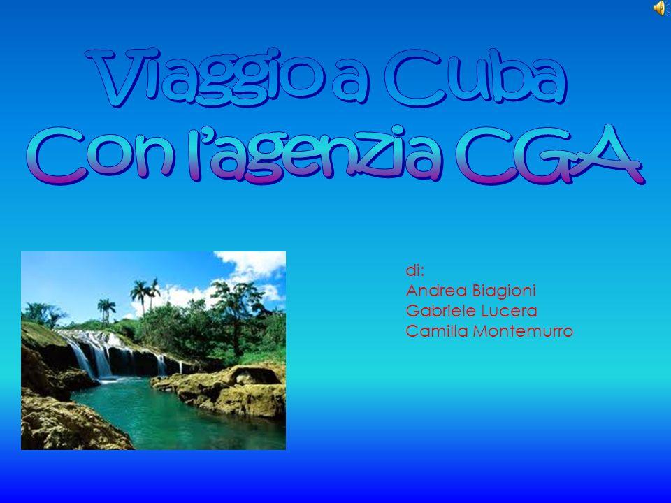 Viaggio a Cuba Con l'agenzia CGA