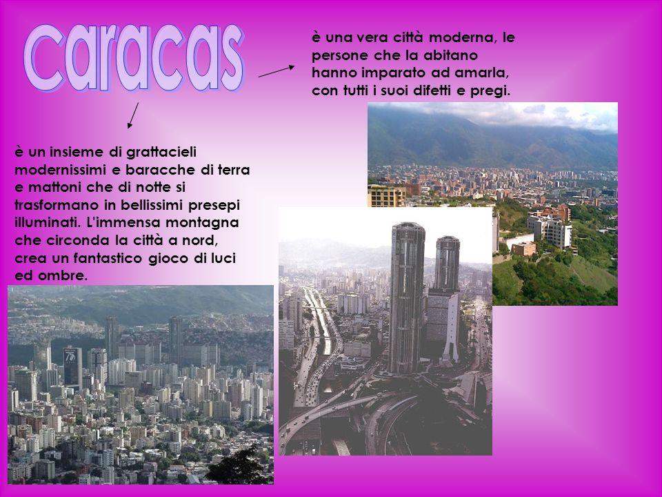 Caracas è una vera città moderna, le persone che la abitano hanno imparato ad amarla, con tutti i suoi difetti e pregi.