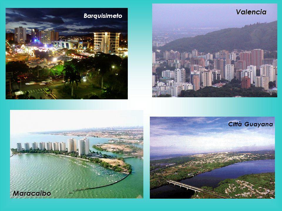 Valencia Barquisimeto Città Guayana Maracaibo