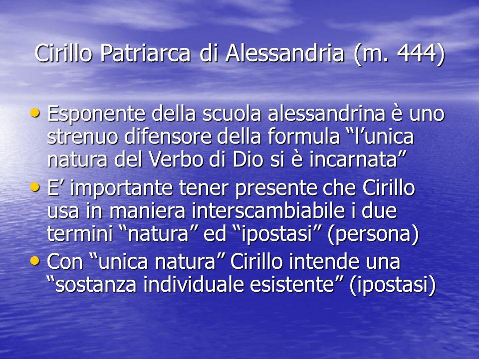 Cirillo Patriarca di Alessandria (m. 444)