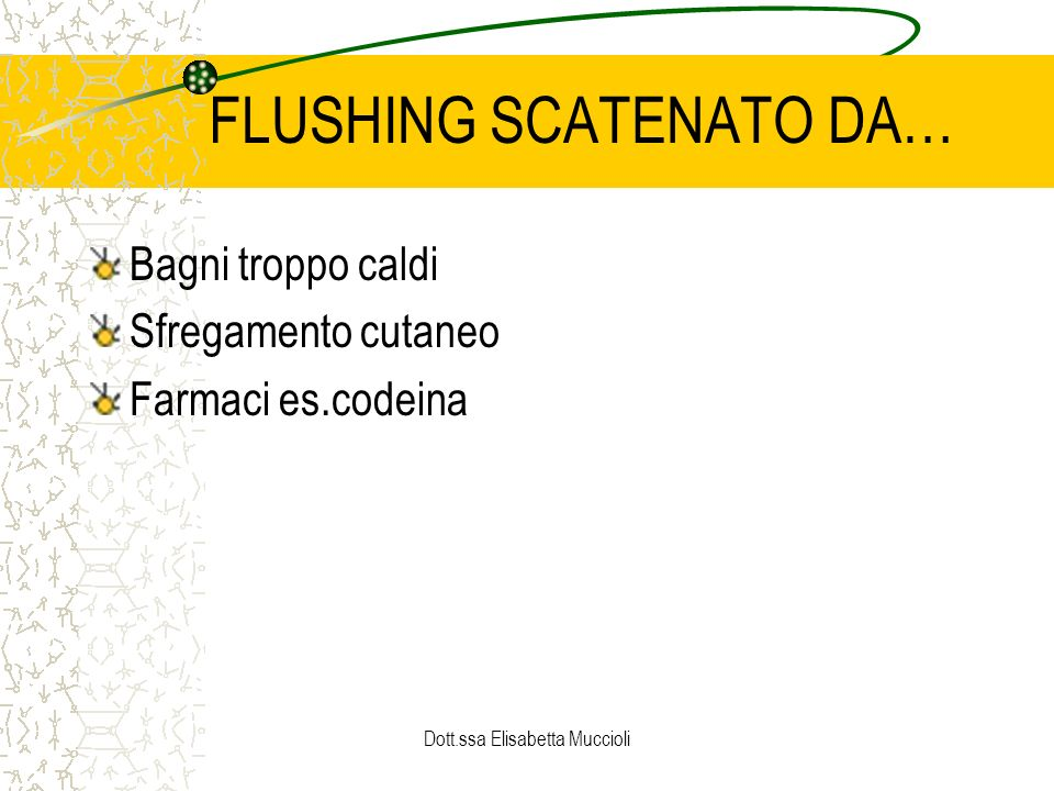 FLUSHING SCATENATO DA…